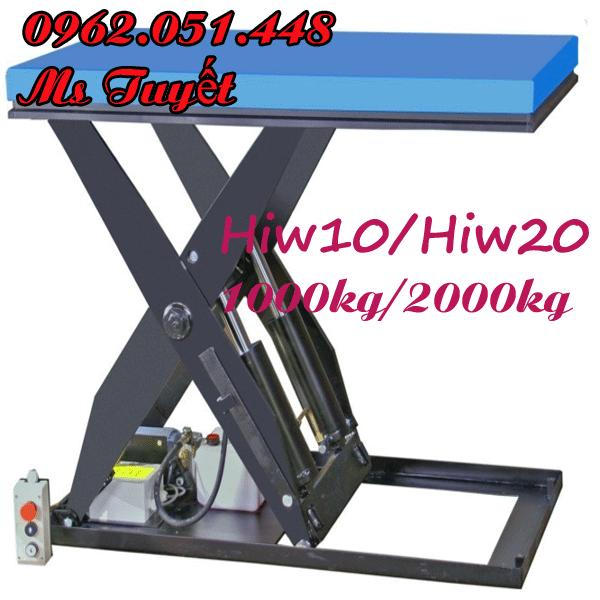 bàn nâng điện HIW