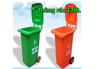 Thùng rác 120L