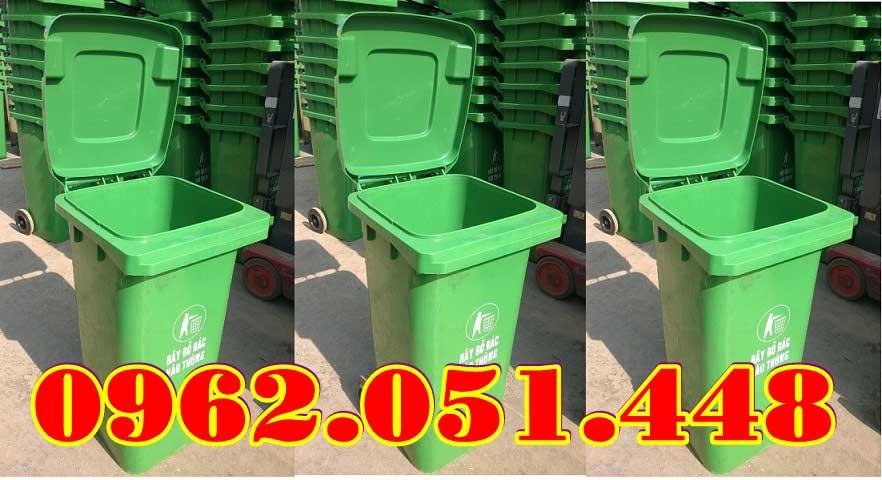 Thùng rác 120L chất lượng nhập khẩu