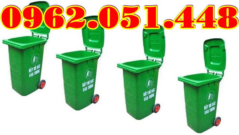 Thùng rác 120L giá rẻ chất lượng