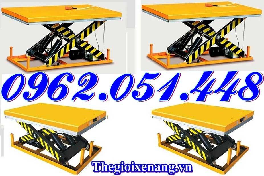 Bàn bàn nâng điện 2 tấn nhập khẩu