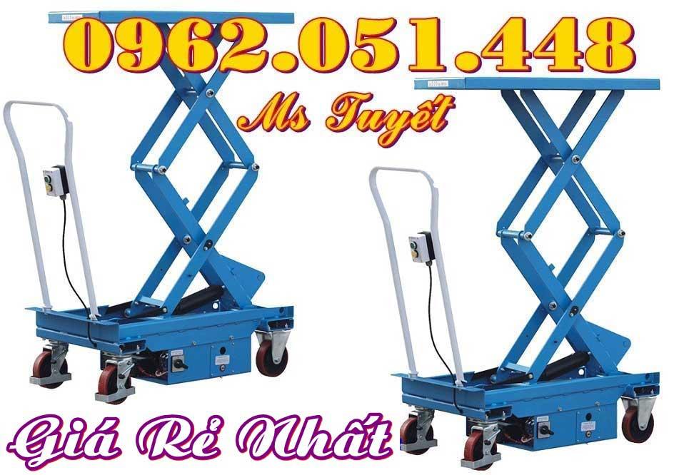 Bàn nâng điện 750kg chất lượng