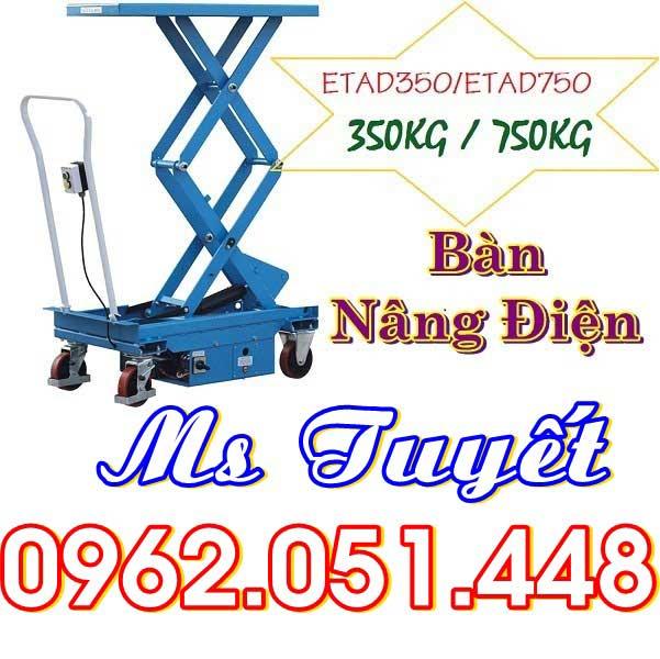 Bàn nâng điện ETAD 350kg