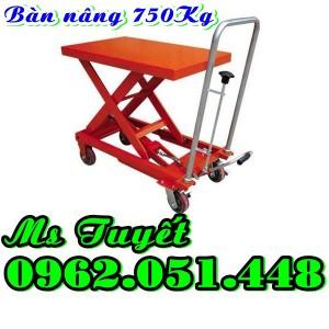 Bàn nâng tay 750kg nhập khẩu rẻ