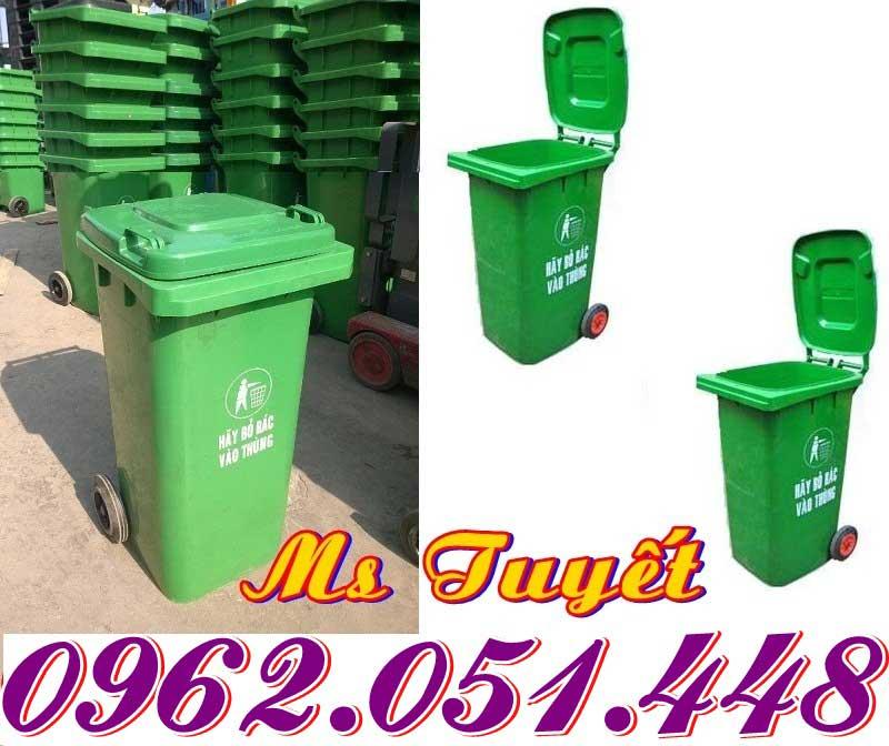 Thùng rác 240L chất lượng