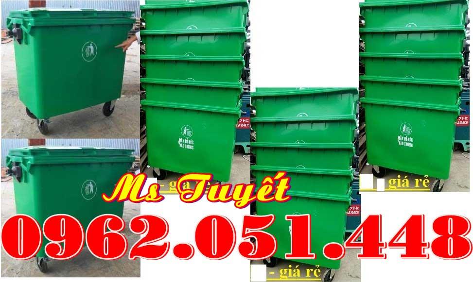 Thùng rác công cộng 660L Nhập khẩu