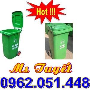 Thùng rác 120L nhập khẩu