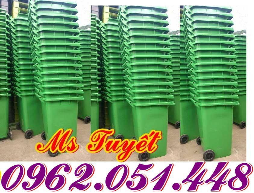 Thùng rác 240L nhập khẩu