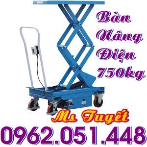 Ban nang dien 750kg nhap khau
