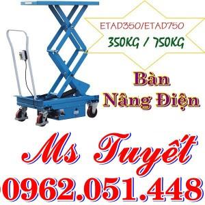 Ban nang dien 350kg