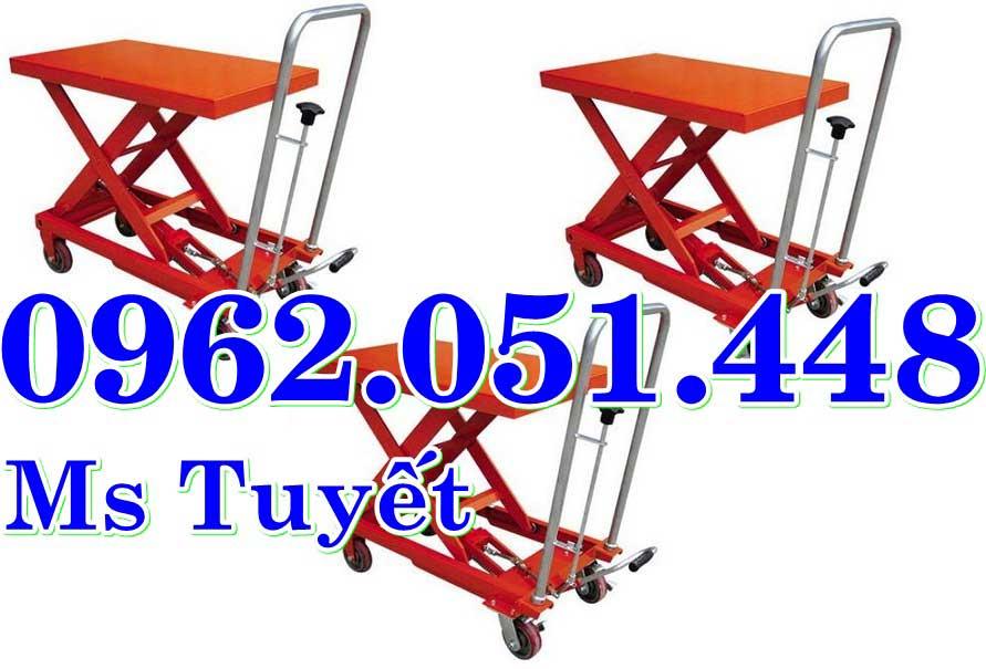 xe nâng bàn 500kg, 750kg, 1000kg nhập khẩu giá rẻ nhất