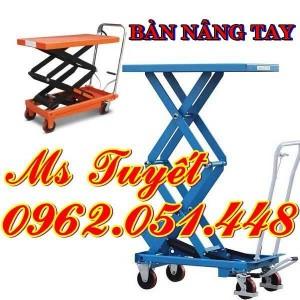 Xe nâng bàn 350kg, 500kg, 800kg, 1000kg giá rẻ nhất